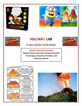 Plate Tectonics:  Volcano LAB - Modified (Make Your OWN Volcano!)