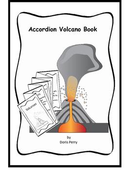 Volcanoes accordian booklet