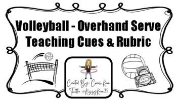 Volleyball - Overhand Server Rubric (GPE & APE)