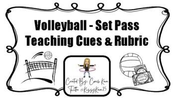 Volleyball - Set Pass Rubric (GPE & APE)