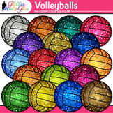 Volleyball Clip Art - Sports Equipment Clip Art - Physical