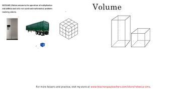 Volume - 5th Grade Math Common Core - FREE Video