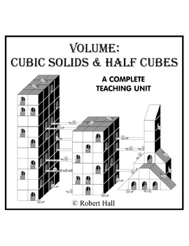 Volume: Cubic Solids & Half Cubes (Common Core Standards)
