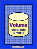 Volume Foldable Notes and Practice