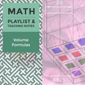 Volume Formulas