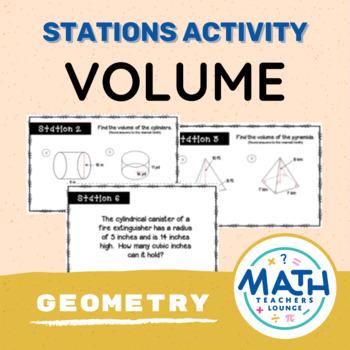 Volume Stations Activity