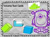 NEW Volume Task Cards 5.4H, 5.6A, 5.6B, 5.MD.C.3, 5.MD.C.4