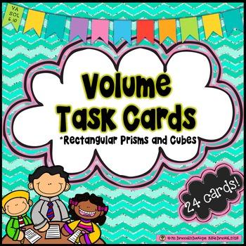 Volume Task Cards