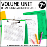 Volume and Cross Sections Unit