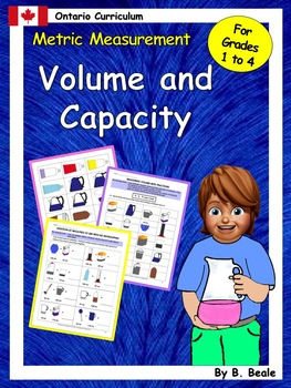 Volume and Capacity Activities Bundled - Grades 1 to 4 - 1