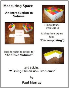 Volume with Cubes in Boxes, Additive Volume, Decomposing Prisms