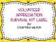Volunteer Appreciation Survival Kit