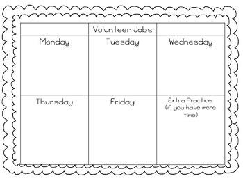 Volunteer Jobs