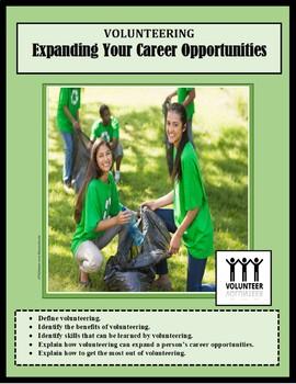 Career Exploration, VOLUNTEERING, VOLUNTEERISM, career les