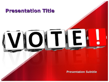 Vote PowerPoint Template