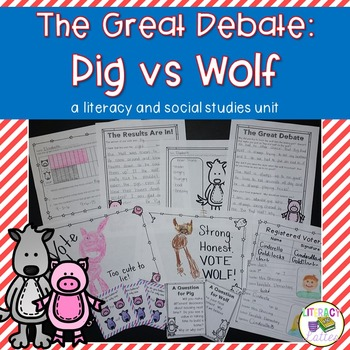 Voting: Pigs Vs. Wolf {a literacy and social studies unit}