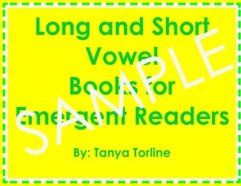 Vowel Book Sample