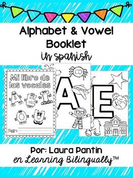 Vowel Booklet in Spanish