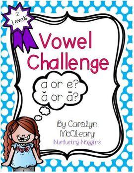 Vowel Challenge (Phoneme Segmentation Practice)