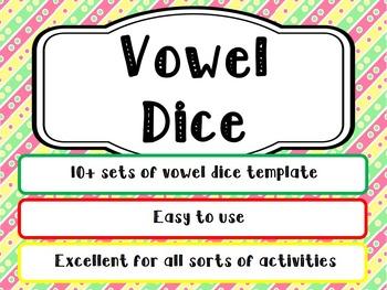 Vowel Dice