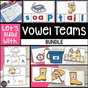 Vowel Digraphs Word Work (Vowel Teams, Vowel Pairs & Diphthongs)