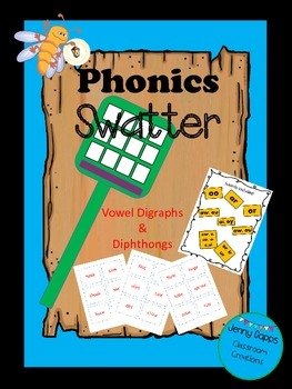 Vowel Digraphs Phonic Swatter