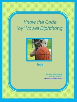 "Vowel Diphthong ""oy"""