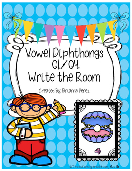 Vowel Diphthongs OI/OY Write the Room