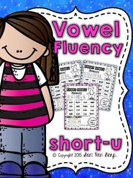 Vowel Fluency: Short U {CVC Words}