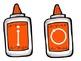 Vowel Glue Bottles {freebie}