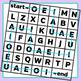 Vowel Mazes Clip Art Set for Commercial Use