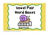 Vowel Pairs Word Boxes