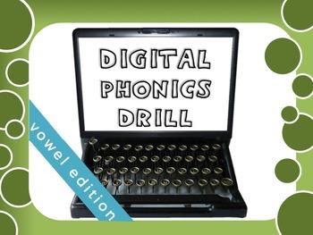 OG Phonics Digital Drill VOWELS
