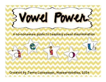 Vowel Power--Working with Short and Long Vowel Sounds
