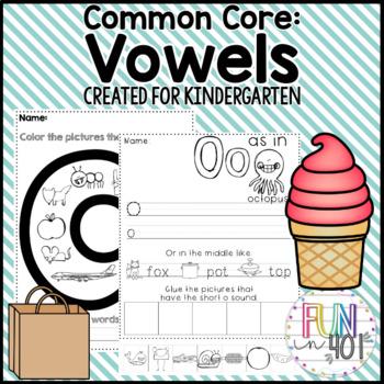 Common Core Vowel Review!