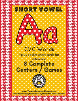 Short Aa Literacy Centers