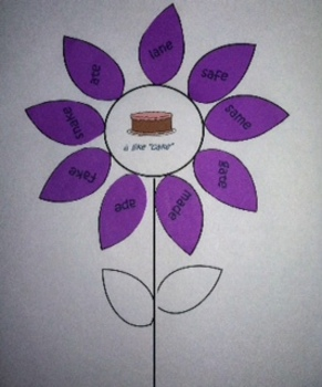 Vowel Sorting Flowers- Short and Long I