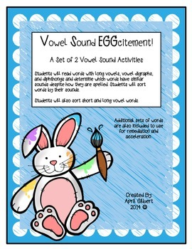 Vowel Sound EGGcitement