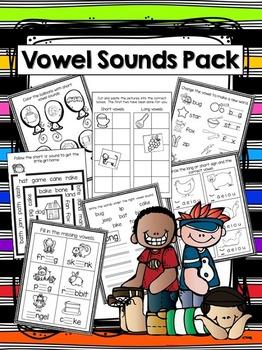 Vowel Sounds Mini Pack
