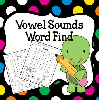 Vowel Sounds Word Finds