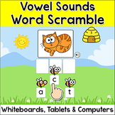 Vowel Sounds Game with Long Vowels & Short Vowels - Spring