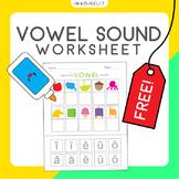Vowel Sounds Worksheet