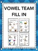 Vowel Team Assessment Pack - ai, ay, ea