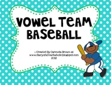 Vowel Team Baseball