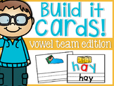 Vowel Team Build It Cards