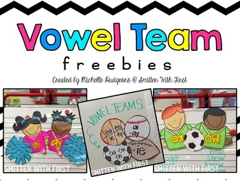 Vowel Team FREEBIES