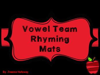 Vowel Team Rhyming Mats