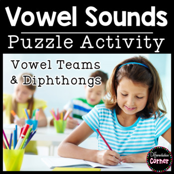 Vowel Team (digraph, diphthong) Puzzles