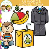 Vowel Teams Clip Art - UI Words