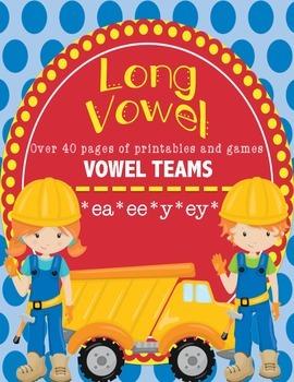 Vowel Teams E - Long Vowels